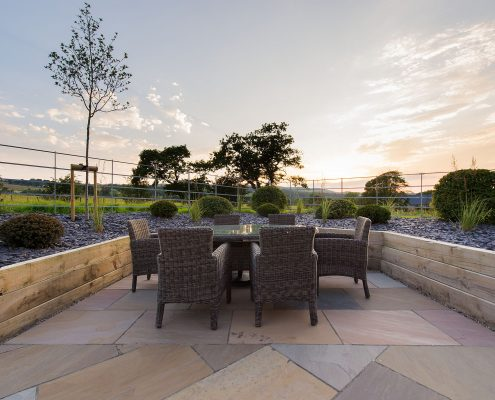 Contemporary planting Yorkshire