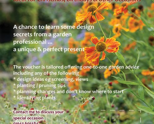 Yorkshire Garden Experience Gift Voucher