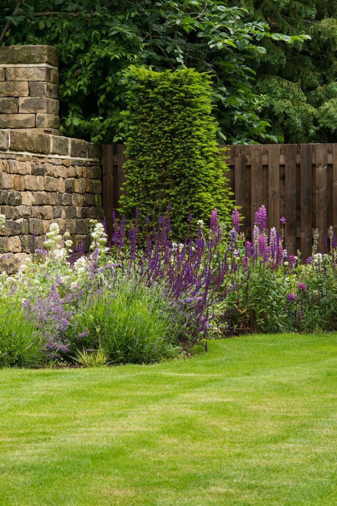 A Sloping Garden With Panoramic Moor Views, Ilkley