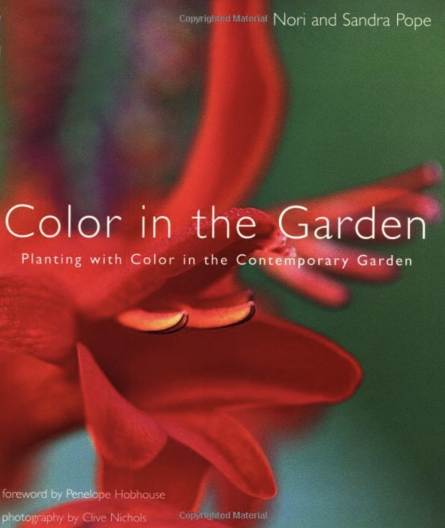 Colour in the Garden, Sandra and Nori Pope