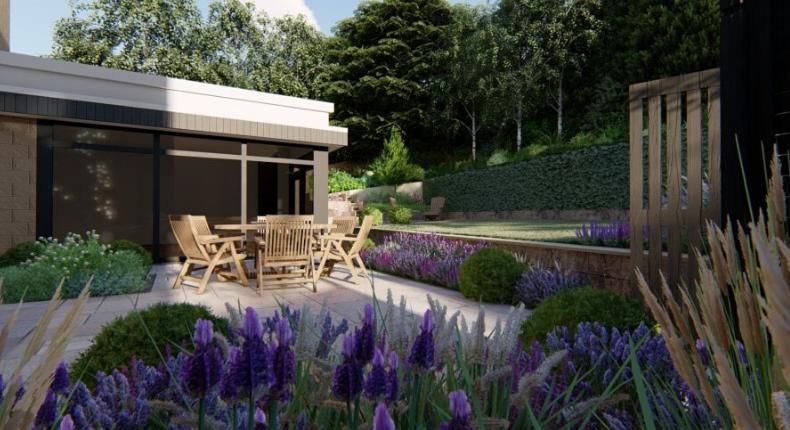 Modern Bespoke Garden Design Ilkley and Skipton